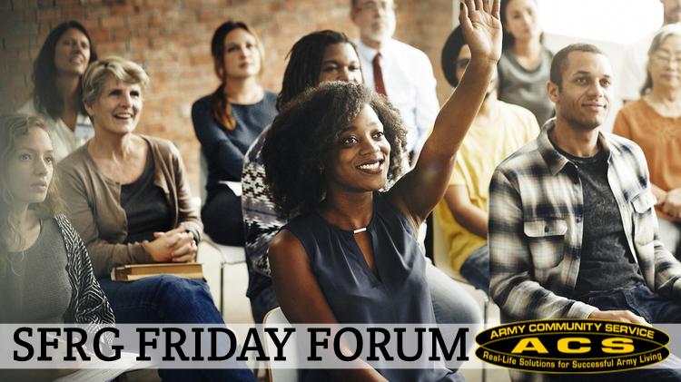 SFRG Friday Forum