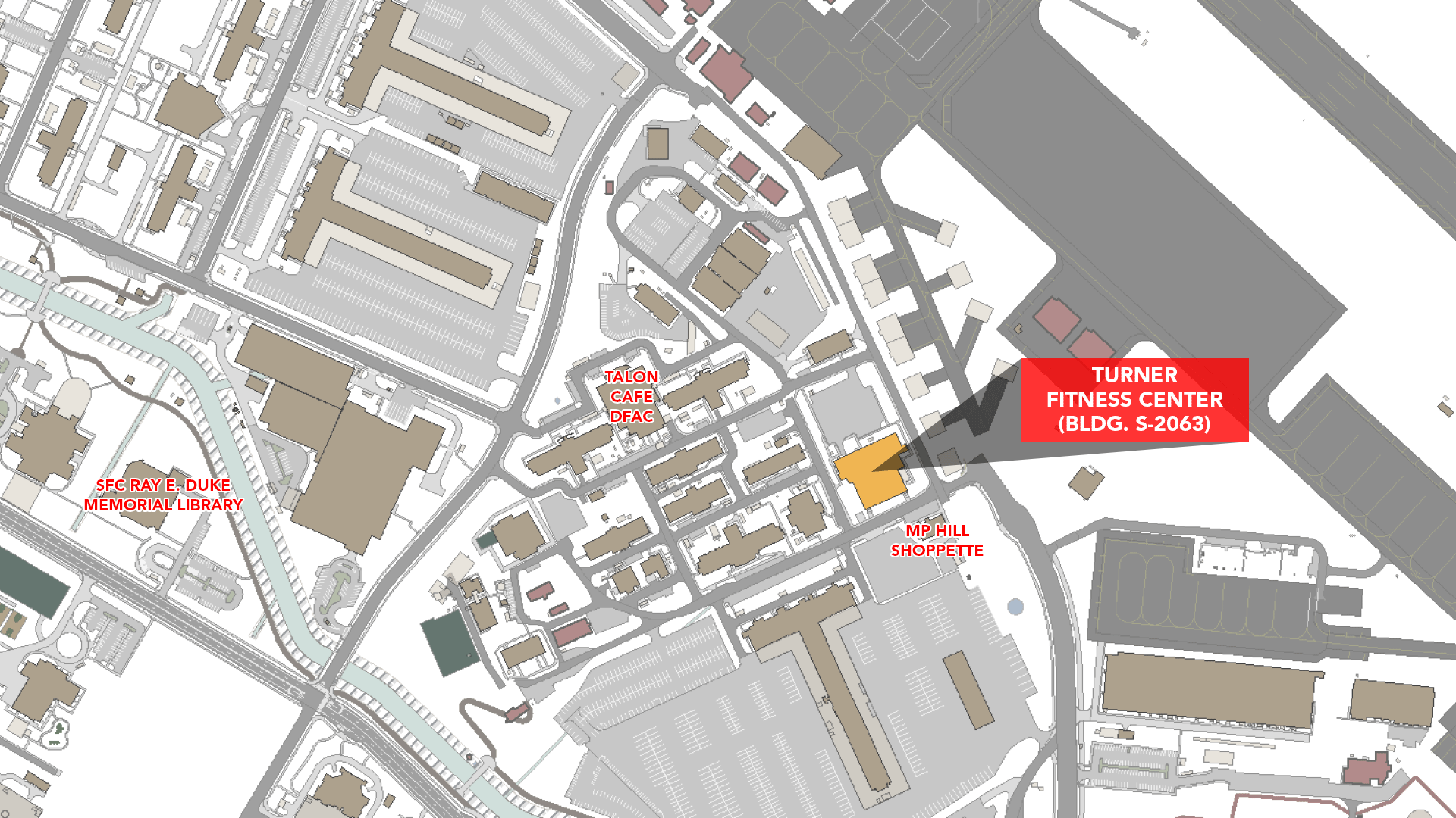 US Army MWR :: Sports & Fitness Camp Humphreys Map on