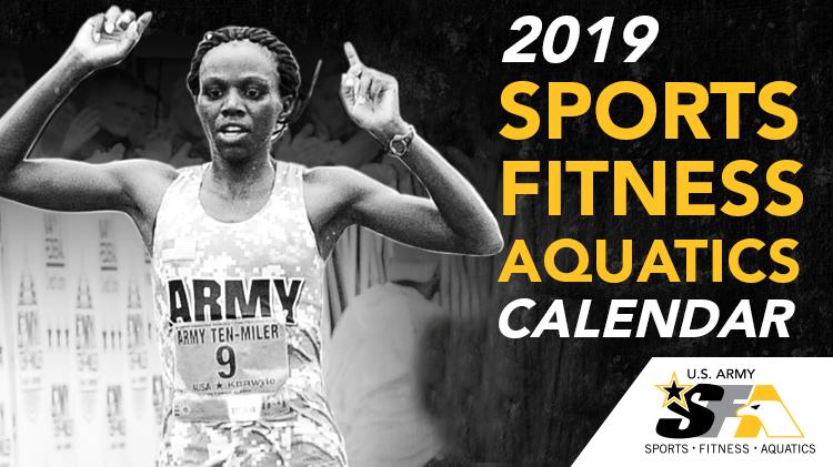 2019 Sports, Fitness and Aquatics Calendar