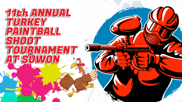 11th Annual Turkey Paintball Shoot Tournament (Suwon)