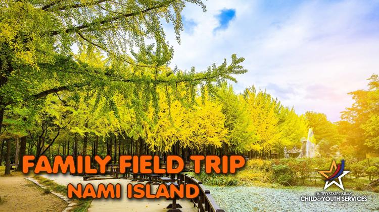 CYS Family Field Trip - Nami Island