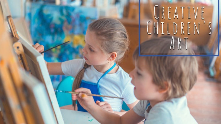 Creative Children's Art (Ages 7 and older)