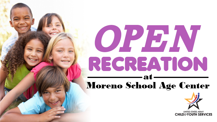 School Age Center Open Rec