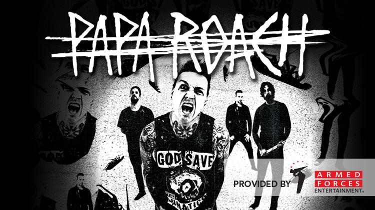 Papa Roach (AFE Concert)