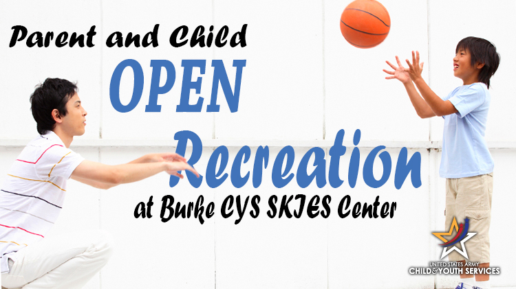 Parent and Child Open Recreation at Burke (CANCELED)