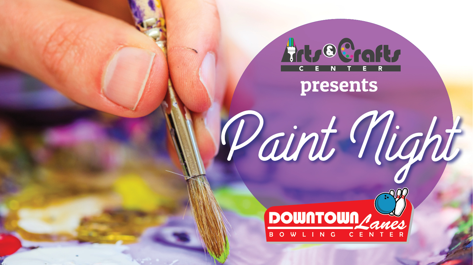 Paint Night @ Downtown Lanes