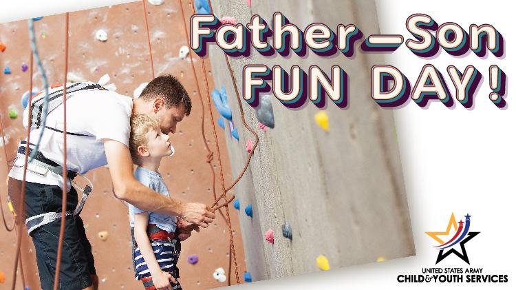Father-Son Fun Day!