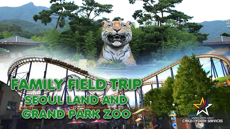 CYS Family Field Trip - Seoul Land and Grand Park Zoo