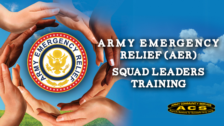 Army Emergency Relief (AER) Squad Leaders Training