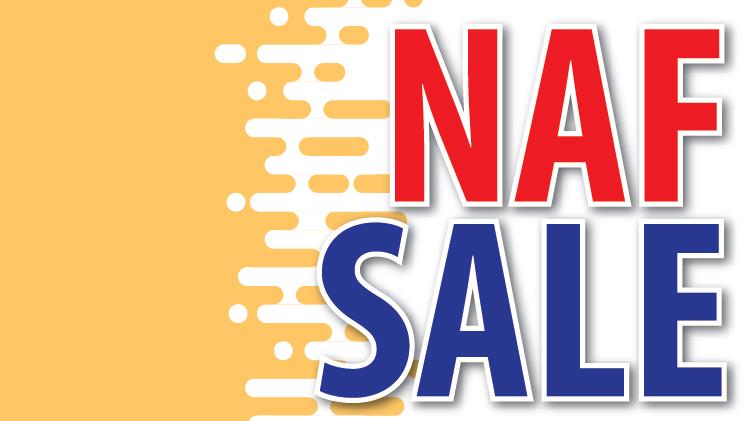NAF Sale