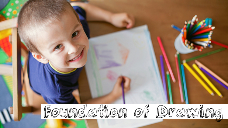 Foundation of Drawing (Ages 7-12)