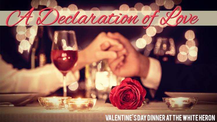 A Declaration of Love Valentine's Day Dinner
