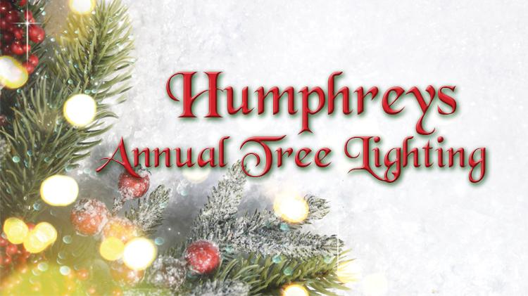 Humphreys Annual Tree Lighting 2018